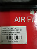 Фільтр повітряний кіа Церато 1 2.0 i, KIA Cerato 2004-2007 LD, H01-KA519, 281132f000, фото 3