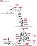 Фільтр повітряний кіа Церато 1 2.0 i, KIA Cerato 2004-2007 LD, H01-KA519, 281132f000, фото 4