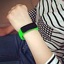 Электронные наручные часы LTL Led на силиконовом браслете fluor green, фото 2