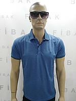 Мужская футболка поло батал. Размеры XXL- 5XL