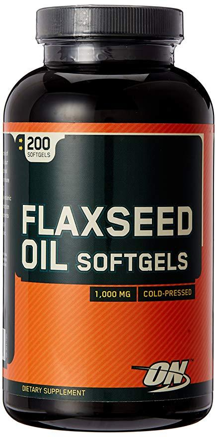 Optimum Nutrition Flaxseed Oil 200 caps
