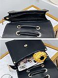 Рюкзак-сумка жіночий зі шнурівкою, фото 5