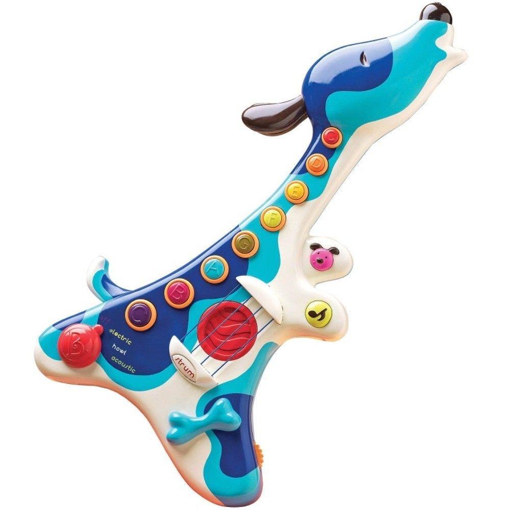 Музыкальная игрушка Пес гитарист детская гитара Battat BX1206Z