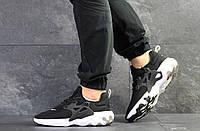 Кроссовки мужские Nike Presto React черные с белым ( Реплика ААА+)