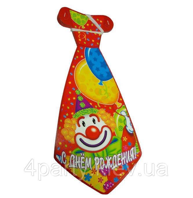 Галстук праздничный Клоун 1501-0445