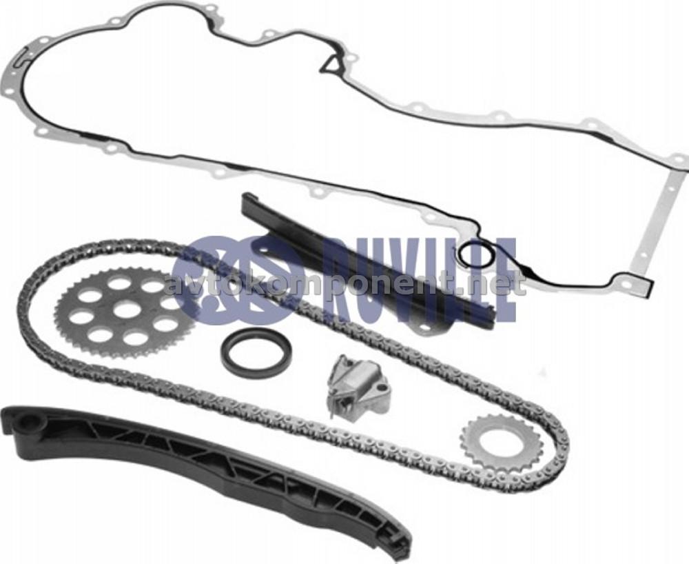 Комплект цепи привода распредвала (производство Ruville) (арт. 3458010SD), AGHZX
