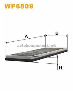 Фильтр салона AUDI 80, 90 WP6809/K1004A угольный (производство WIX-Filtron) (арт. WP6809), ABHZX
