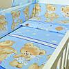 """Постельное белье в детскую кроватку """"Ведмедик"""""""