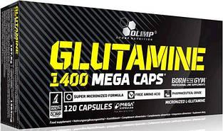 Глютамин Olimp Glutamine Mega Caps 1400 mg 120 caps