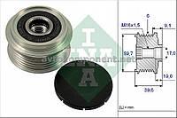 Шкив генератора с обгонной муфтой (пр-во Ina), (арт. 535 0065 10), ADHZX