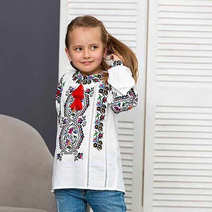 Вышиванка для девочки Сказка, фото 2