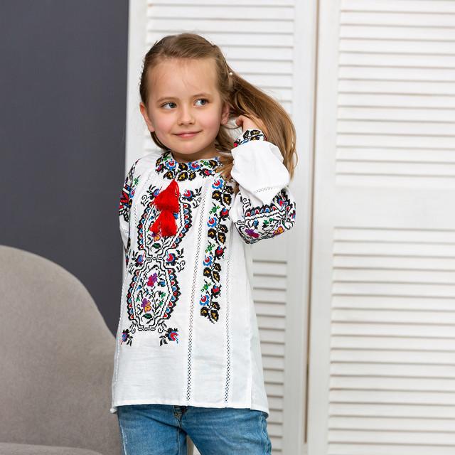 Детские вышиванки для девочки Сказка