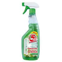 Средство для мытья стекол Весенние цветы с распылителем - 5Five 500 мл