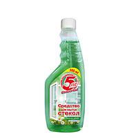 Средство для мытья стекол Весенние цветы (Запаска) -5Five 500мл