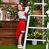 Червоний костюмчик для дівчинки Україночка, фото 4
