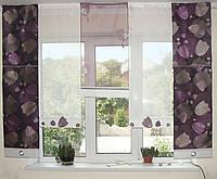Японские панельки Тюльпаны сиреневые, фото 1
