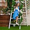 Блакитний костюмчик для дівчинки Україночка, фото 3