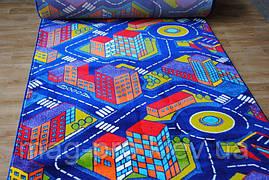 Детский ковер с дорогами Ночной город(Baby 6045), фото 2