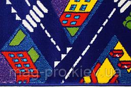 Детский ковер с дорогами Ночной город(Baby 6045), фото 3