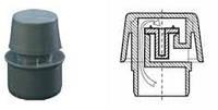Клапан противовакуумний ПП 50