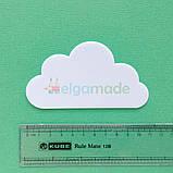 Шаблон пластиковый ОБЛАКО 2, 11х6 см, фото 2