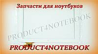 """Тачскрин (сенсорное стекло) для Digma iDsQ11, YTG-P10009-F1 V1.0, 10,1"""", внешний размер 259*168 мм, рабочий размер 217*137 мм, 12 pin, белый"""