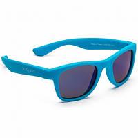 Koolsun Wave - Солнцезащитные очки (3-10 лет), цвет неоново-голубой