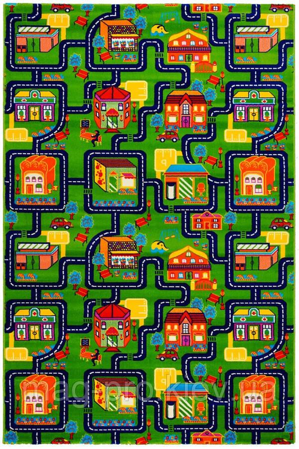 Детский ковер Сказочный городок(baby 6046)