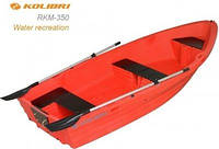 Лодка KOLIBRI RKM-350 красная полимерная