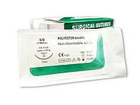Поліестер USP 5/0 (EP 1) з голкою таперкат 18мм 3/8 кола