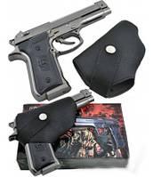 Зажигалка пистолет в кобуре 3728