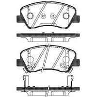 Тормозные колодки дисковые  передние Remsa RE 1488.02/ПЕРЕДН HYNDAI ELANTRA NEW KIA CERATO 1,6 13-