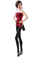Коллекционная кукла Барби Сияние города Красное платье / City Shine Barbie Doll - Red
