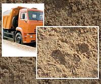 Доставка Песка в Виннице (Карьерный овражный ) в мешках 50 кг и насыпью 6-30тонн, фото 1