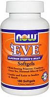 NOW  Витамины  Eve Multi Womans 180 шт. / 60 servings