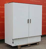 Холодильный шкаф глухой «Cold S-1200» полезный объём 1400 л. (Польша), новый контроллер, Б/у, фото 1