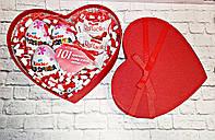Подарунок для дівчини у коробці серце 101 причина чому я тебе кохаю