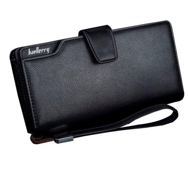 Мужской кошелек, портмоне Baellerry 1063 Black, Business