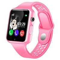 Детские умные часы Smart Baby Watch G98 GPS Black динамик,микрофон, micro sim 380 мАч, фото 2