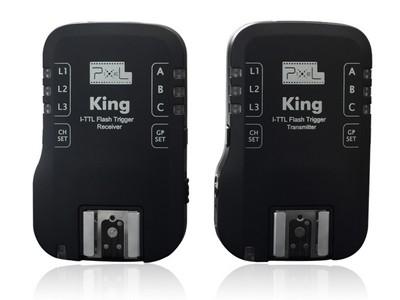 Радиосинхронизатор вспышек Pixel King Nikon i-TTL (2 шт)