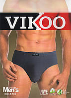Плавки мужские стрейчевые х/б+бамбук Vikoo