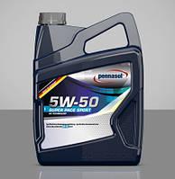 Моторное масло для автомобиля синтетика PENNASOL SUPER PACE SPORT SAE 5W50 5L GERMANY