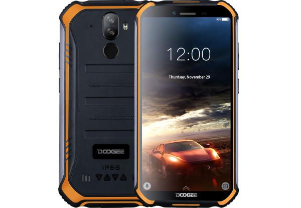 Защищенный смартфон Doogee s40 2/16gb Black/Orange MediaTek MT6739 4650 мАч