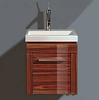Тумбочка подвесная 38см для умывальника 079040, петли справа, 1 дверца Duravit 2nd floor 2F 6445R6767 палисанд