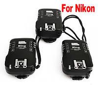 Радиосинхронизатор вспышек Pixel King Nikon i-TTL (3 шт)
