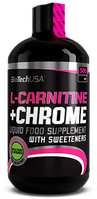 BioTech LCARNITINE + CHROME 500 мл / 33 servings