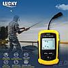 Эхолот для рыбалки Lucky FF-1108-1. Проводной. 1-о лучевой. Угол обзора 45°. Локация до 100м. Черно-белый. (Эхолот Лаки ФФ 1108);, фото 2
