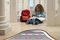 Монтаж теплої підлоги на основі двожильний секції