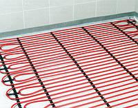 Монтаж кабельного теплої підлоги