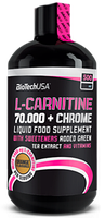 BioTech LCARNITINE 70.000 + CHROME 500 мл / 50 servings